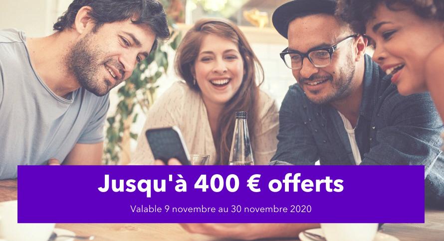 Parrainage Aumax pour moi, 10€ pour le parrain, 10€ pour le filleul, limite de 20 parrainages