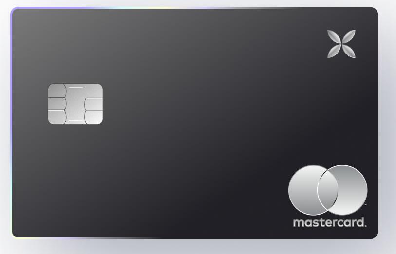 Carte bancaire X de Qonto, en métal, pour les Pros