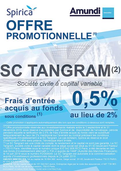 Flyer offre commerciale SC TANGRAM