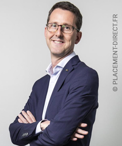Gilles Belloir, directeur général de Placement-direct.fr