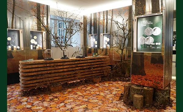 La boutique La Monnaie de Paris végétalisée