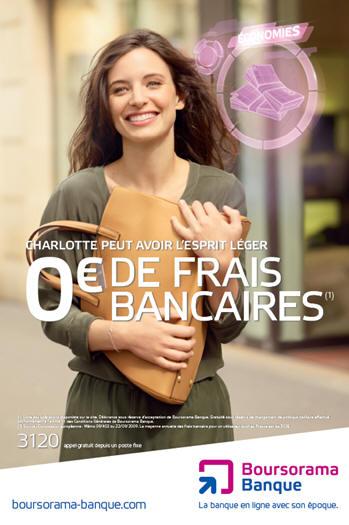 59% des clients Boursorama banque n'ont absolument rien payé pour la gestion de leur compte bancaire en 2011