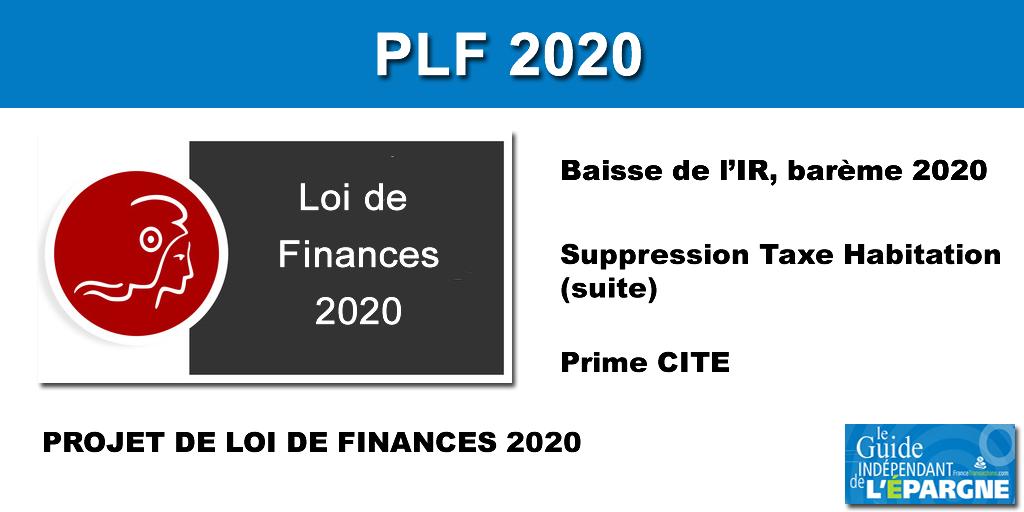 PLF 2020 (Projet de Loi de Finances)