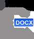 Attestation couvre-feu COVID, déplacement dérogatoire (DOCX) (Word) - 12.1ko