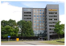 Bureaux de plus de 8000 m2 situé à Rosmalen, à 100 km au sud de Rotterdam aux Pays-Bas