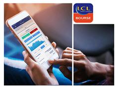 Nouvelle application LCL Bourse