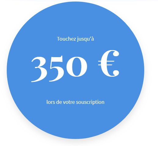 350€ offerts, sous conditions