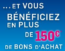 Boursorama banque: 80 + 150 = 230 €!