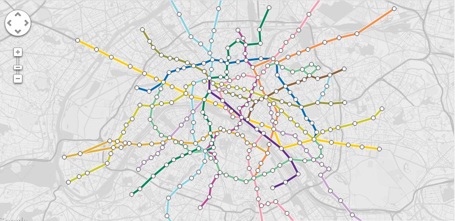 Immobilier parisien: un outil permettant d'évaluer les prix en fonction de la ligne de métro