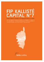 FIP corse Kallisté Capital N°7
