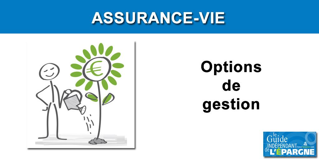 Options contrat assurance-vie