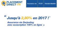 Assurance-Vie en ligne : le contrat Darjeeling, pépite du courtier Placement-direct.fr