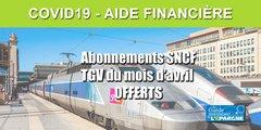 SNCF : votre abonnement TGV du mois d'avril 2020 est offert