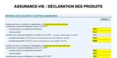 Assurance-vie : déclaration de revenus 2018 (impôt 2019), que dois-je déclarer et dans quelles cases ?