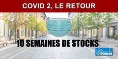 COVID II, le retour : les entreprises doivent avoir suffisamment de masques en stock pour tenir 10 semaines