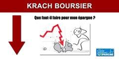 Krach boursier : que faut-il faire pour sauver son épargne ?