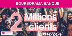 Boursorama passe le cap des 2 millions de clients, mais toujours pas celui de la rentabilité