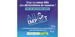 Aide gratuite pour établir sa déclaration de revenus : ALLO IMPÔT, du 16 au 22 mai 2019