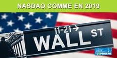 Bourse : le NASDAQ sur ses records d'avant crise de 2020, dans un pays en récession