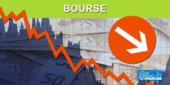Le CAC40 voit rouge (-2.92%), la France va subir une des pires récessions au monde selon le FMI