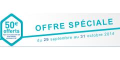 50€ offerts pour la souscription d'un contrat auprès de La France Mutualiste