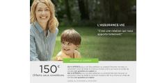 Fortuneo Vie : 150€ offerts pour 5.000€ versés, sous conditions, à saisir avant le 31 mai 2019