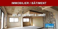 Récession COVID : Effondrement de l'activité dans l'artisanat du bâtiment (80% à l'arrêt)