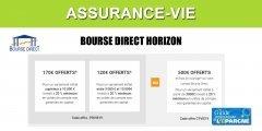 Assurance-Vie Bourse Direct Horizon : offre de bienvenue, jusqu'à 170€ de prime ou 500€ de frais de courtage offerts