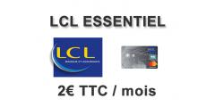 LCL Essentiel : la nouvelle offre bancaire à 2 balles, un écho de Eko by CA