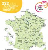 Liste des 222 villes éligibles au plan action cœur de ville