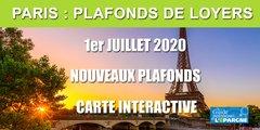 Nouveaux plafonds de loyers à Paris applicables à partir du 1er juillet 2020