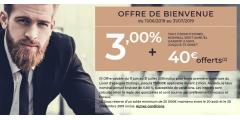 DERNIERS JOURS ! Livret DISTINGO de PSA Banque : 3% brut+40€ offerts, à saisir avant le 31 juillet 2019 !