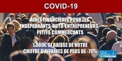 Indépendants, Commerçants, Libéraux, TPE : comment bénéficier de l'aide de 1.500€ ?