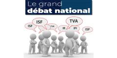 Retour de l'ISF, TVA, impôt sur le revenu pour tous : les idées fiscales du grand débat retoquées par le Premier Ministre