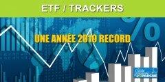 Marchés financiers : les ETF marquent un nouveau record de collecte en 2019 en dépassant les 100 milliards d'euros