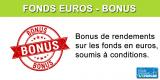 Assurance-Vie, Fonds en euros : bonus de rendement 2020
