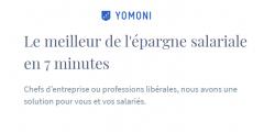 Épargne salariale (PERCOI/PEI) : une nouvelle offre 100% digitale pour les TPE/PME chez Yomoni