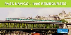 Pass Navigo : 100€ remboursés sur votre abonnement annuel