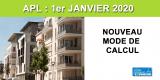 Réforme du calcul des APL : les changements applicables au 1er janvier 2020