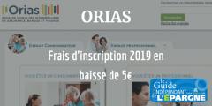 Professionnels de la finance : l'ORIAS baisse ses frais d'inscription de 5€ en 2019