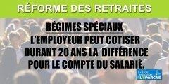Régimes spéciaux : les employeurs pourront verser la différence de cotisation à la place de leurs salariés pendant 20 ans