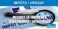 Coronavirus : commerçants, artisans, indépendants, libéraux, les mesures exceptionnelles de l'URSSAF