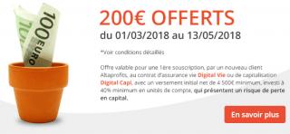 AltaProfits Digital Vie : 200€ offerts pour 4.500€ versés, à saisir avant le 13 mai 2018
