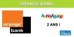 Orange Bank : un deuxième anniversaire fêté sous le signe de nouvelles offres commerciales