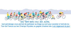 Parrainage LCL : tentez votre chance pour assister à l'arrivée du Tour de France sur les Champs Elysées
