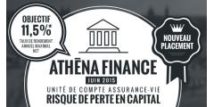 Athéna Finance Juin 2015, objectif 11.50% / an, en assurance-vie