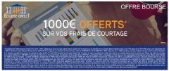 Bourse Direct : offre été 2016, jusqu'à 1.000€ offerts pour profiter de la volatilité des marchés