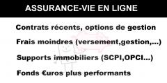 Assurance-vie : Les meilleurs contrats d'assurance-vie sont en ligne !