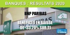 BNP Paribas rassure, même avec des résultats en forte baisse (-33.20%) au premier trimestre 2020