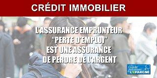 Crédit immobilier : votre assurance emprunteur perte d'emploi ne couvre pas le chômage partiel